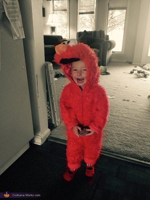 Elmo ate me!, Elmo Baby Costume