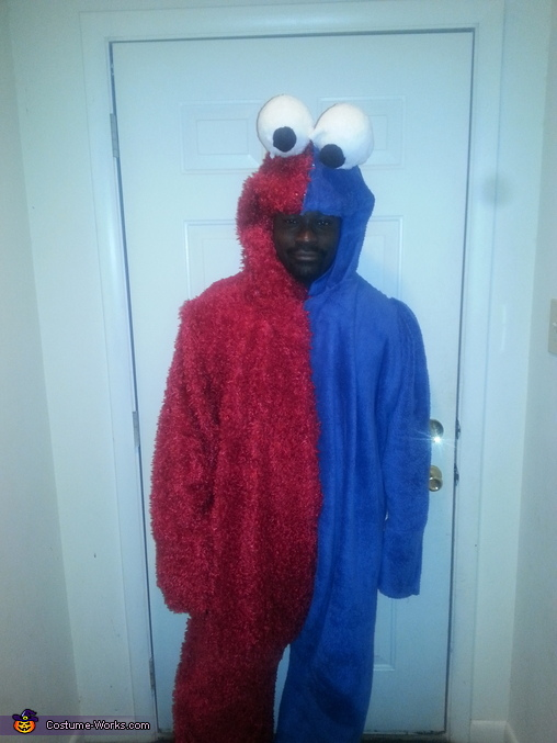 Elmookie Monster Costume