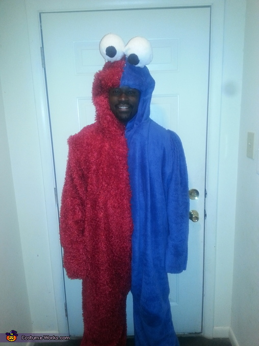 Elmookie Monster Homemade Costume