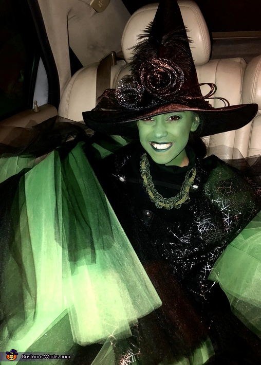 Elphaba - Wicked Witch of the West Homemade Costume