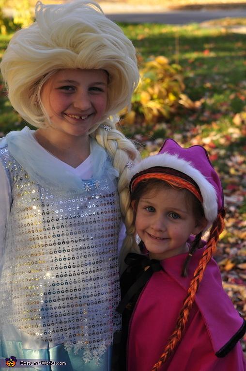 Elsa and Anna Costume