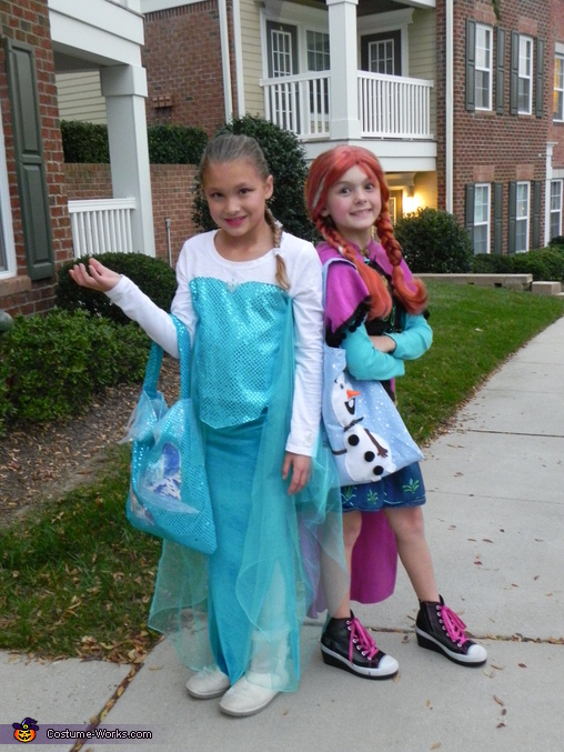 Elsa and Anna from Frozen Costume