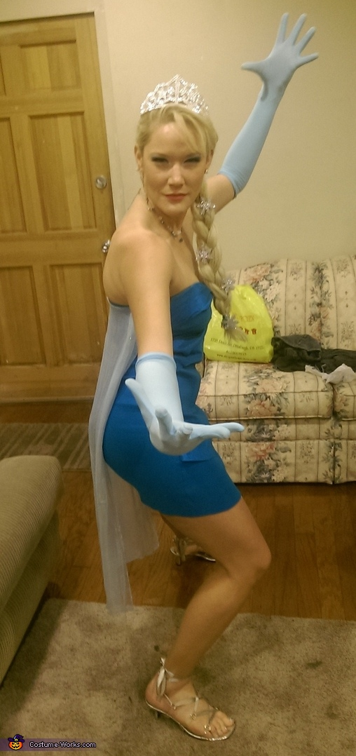 Elsa Shooting Ice, Elsa from Frozen Costume