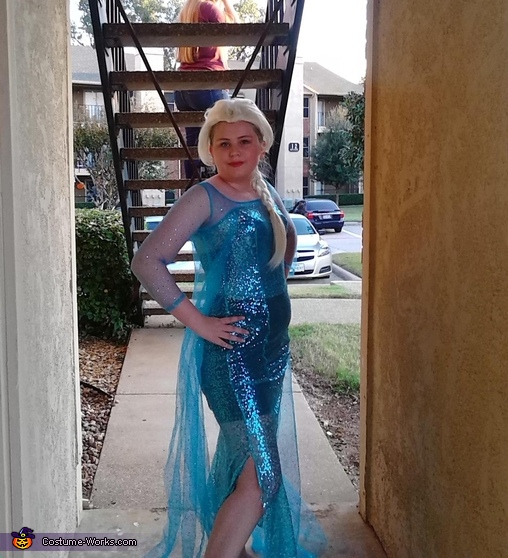 Women's Elsa Frozen Costume