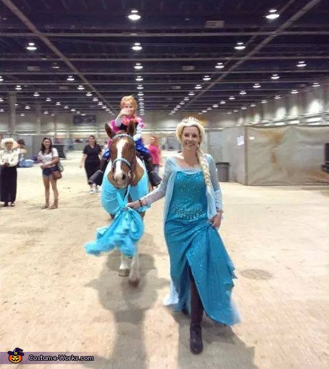 Elsa, Anna & Sven, Elsa, Sven & Olaf Costume