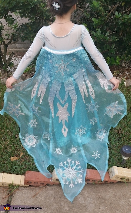 Cape, Elsa the Snow Queen Costume