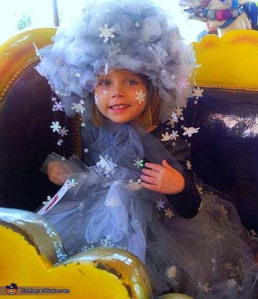 Elsa S Snow Storm Costume