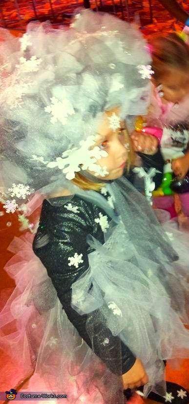 Snow Storm, Elsa's Snow Storm Costume