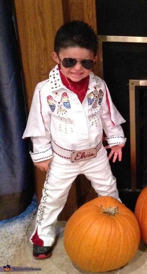 Homemade Elvis Costume