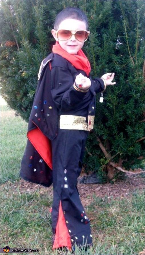 Elvis Presley costume for boys | Easy