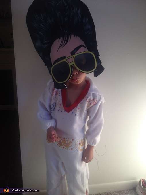 Trying to do the lip thing :), Elvis Costume