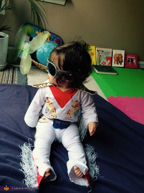 Elvis Baby Costume DIY
