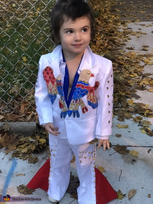Elvis, Elvis and Las Vegas Showgirl Costume