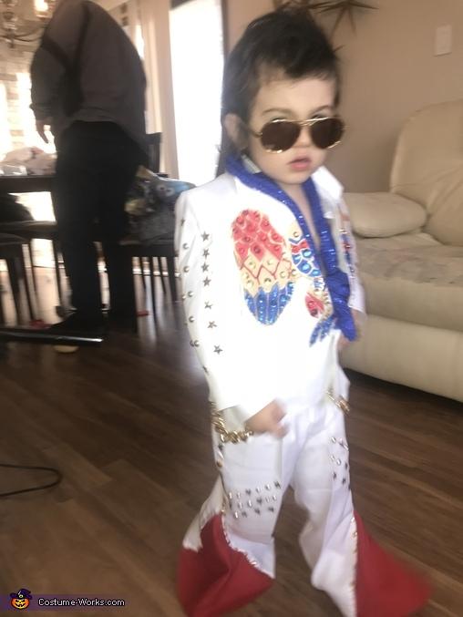 Elvis, Elvis and Las Vegas Showgirl Costume