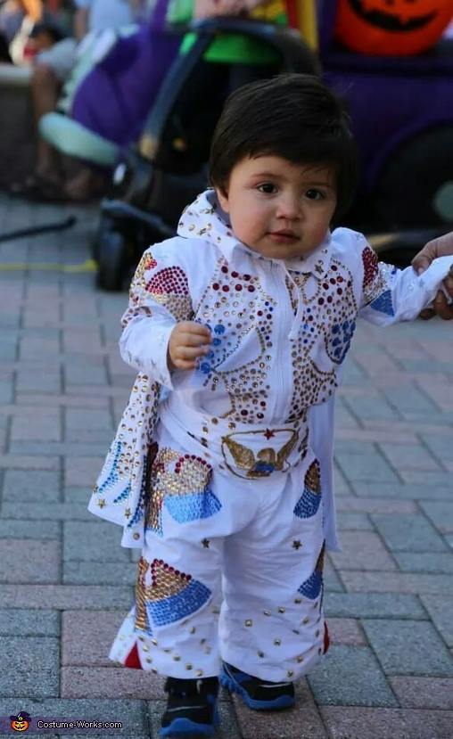 The King Elvis Baby Costume