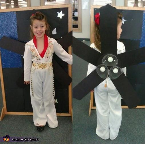 Elvis Fan Costume