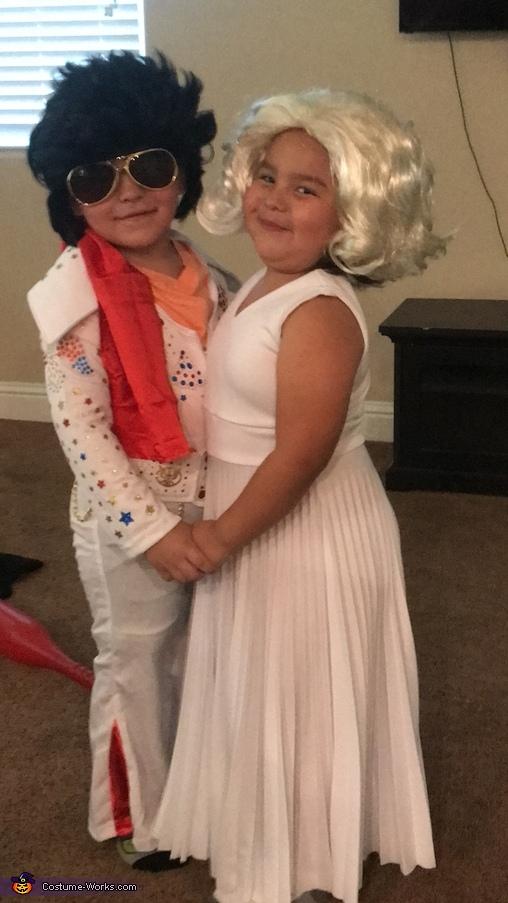 Elvis & Marilyn Costume
