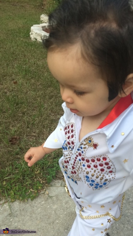 Elvis Presley Baby Homemade Costume