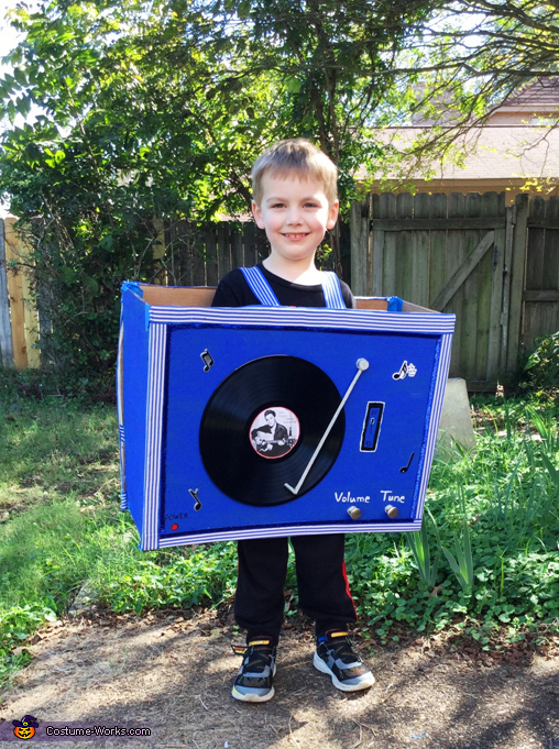 Elvis Record Player Costume