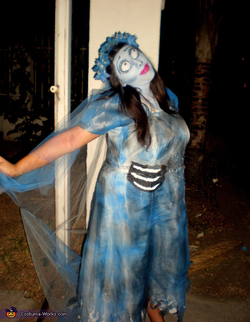 Emily from Corpse Bride - Homemade costumes for girls
