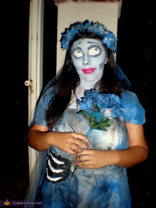 Emily from Corpse Bride, Emily from Corpse Bride Costume
