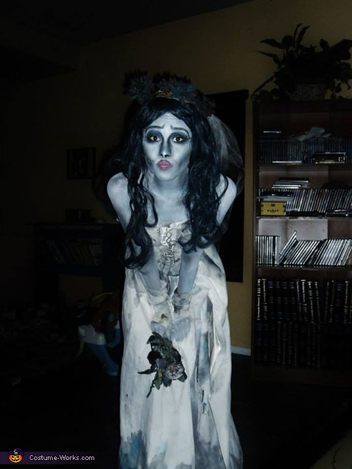 Dead Bride Halloween Costume.Emily From Corpse Bride Halloween Costume Photo 3 4