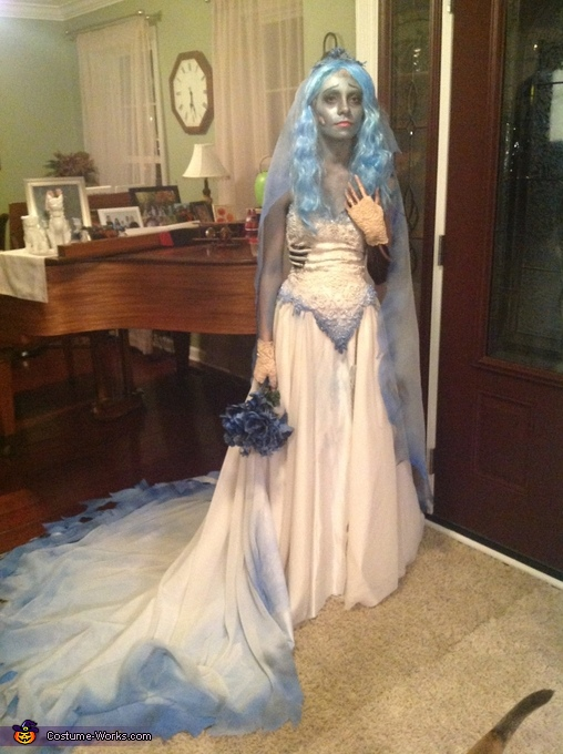 Emily from the Corpse Bride Homemade Costume