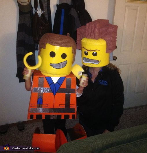 Emmet and President Business Costume