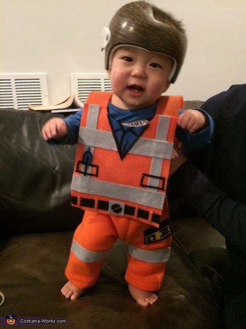 Emmet Lego Man Costume