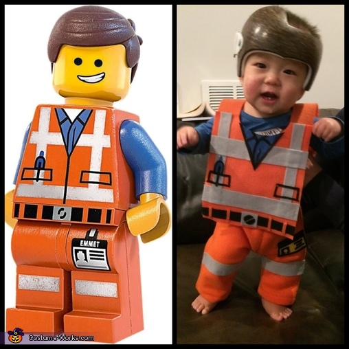 Side by Side, Emmet Lego Man Costume
