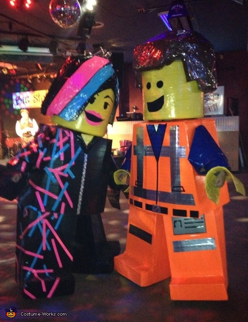 Emmet & Wyldstyle Couple Costume