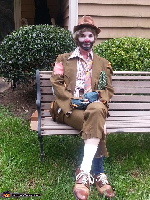 Emmett Kelley Costume