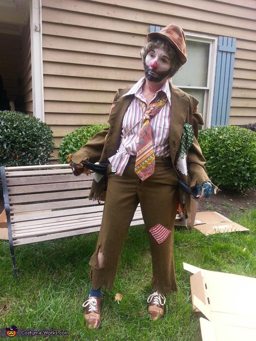 All I've got are empty pockets. , Emmett Kelley Costume