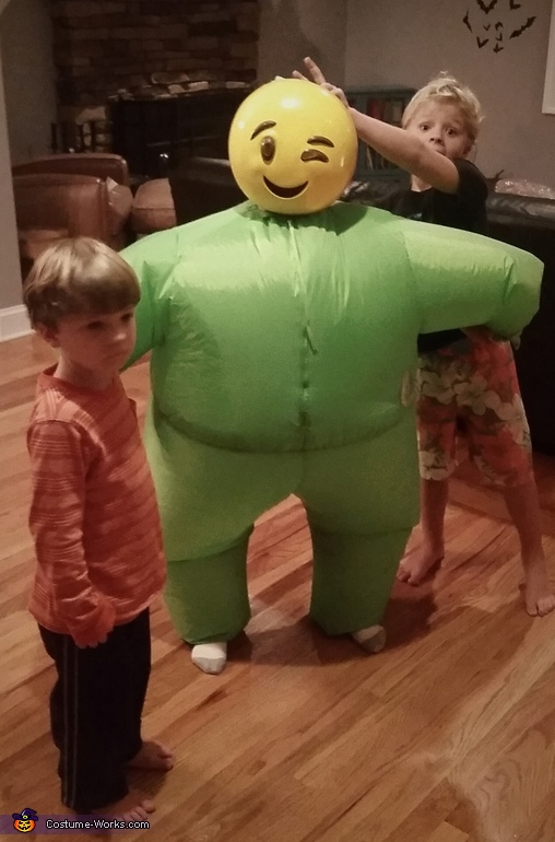 Emoji Blimp Costume