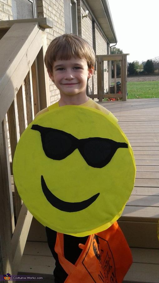 Cool, Emoji Family Costume