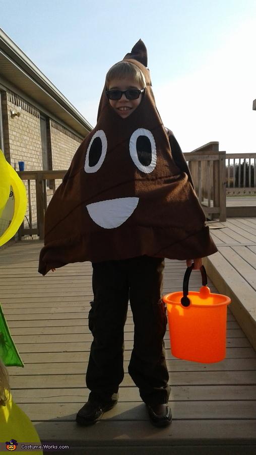 Poop, Emoji Family Costume