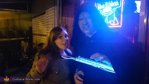 Party-with-Palpatine 1, Emperor Palpatine Costume