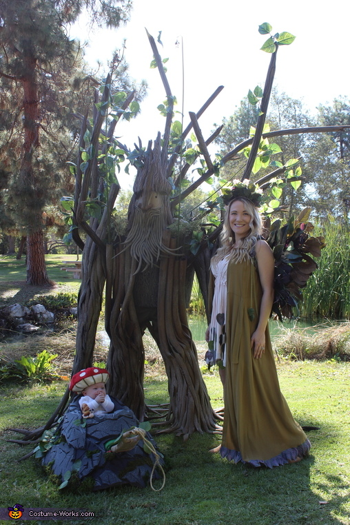 Enchanted Forest Homemade Costume
