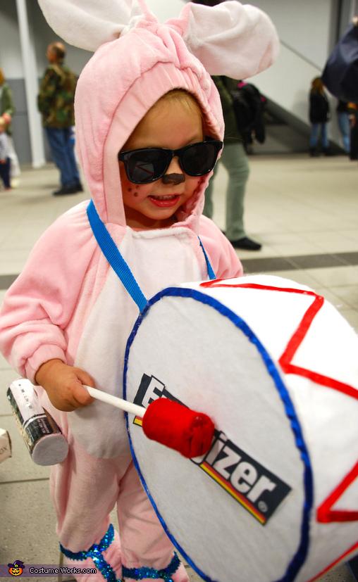 Energizer Bunny Toddler Costume