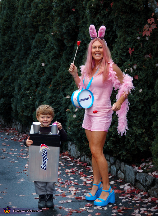 Energizer Bunny & Battery Costume