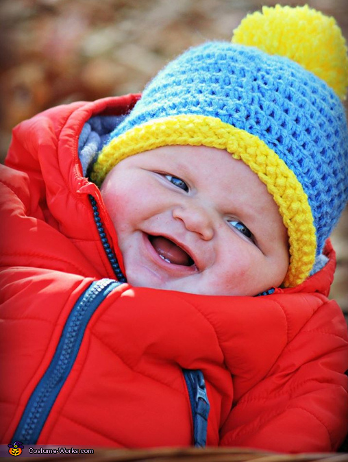 Eric Cartman Baby Homemade Costume