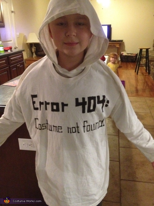 Error 404 - Costume Not Found!