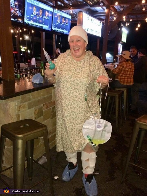 Escaped Patient from Hospital Costume