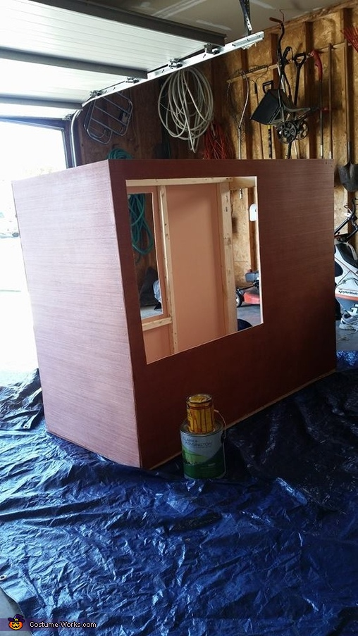 Box and Frame, Esmeralda Fortune Teller Costume