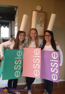 Essie Nail Polish Group Costume Best Diy Costumes