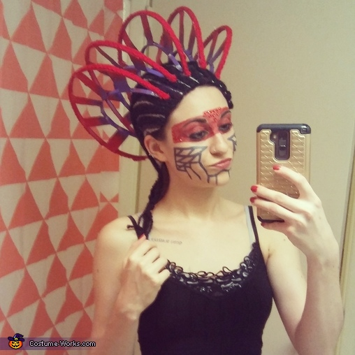 Katy Perry ET headpiece, ET Costume