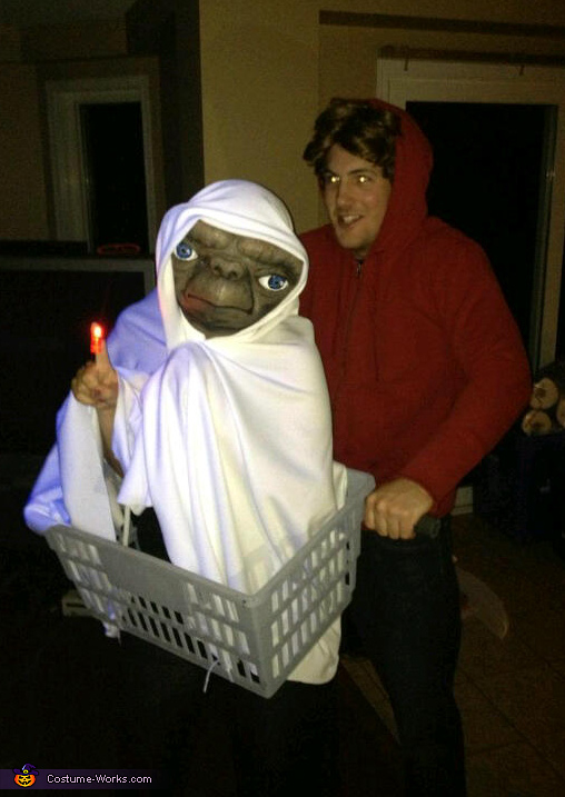 E.T. and Elliot Couple Costume