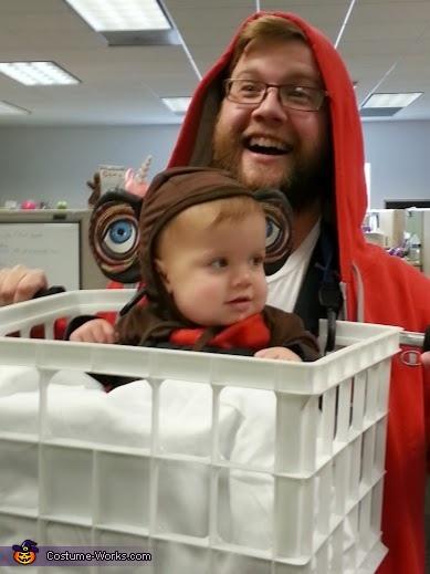 ET and Elliot having fun, E.T. and Elliot Costume