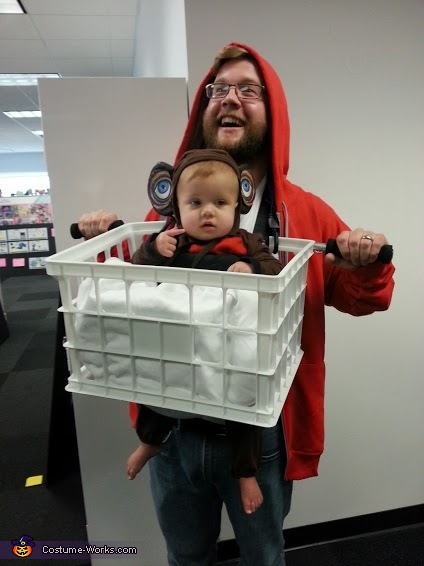 E.T. and Elliot Costume