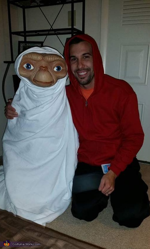 E.T. and Elliott Costume